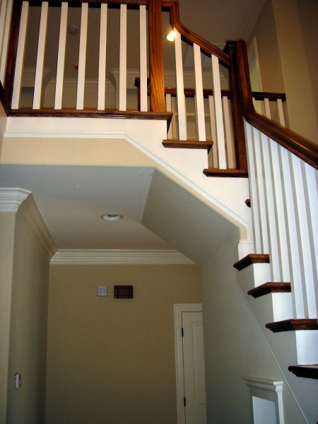 Photo stairs railings Winston-Salem Alan Fletcher Construction